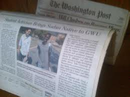 Read about Banaa's first scholar on the front page of the Washington Post!